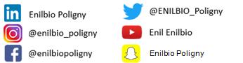 Les réseaux sociaux de l'EnilBio de Poligny