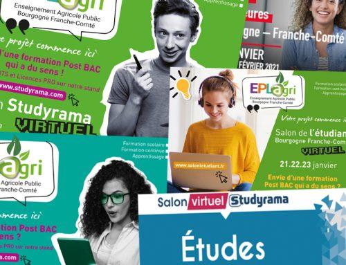 Place aux Salons virtuels du SUP !